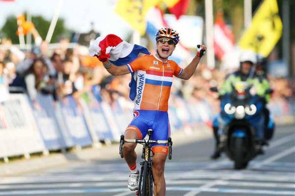 Marianne Vos - World female Road Race Champion 2013