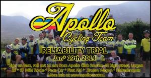 Apollo Reliability Trial 2014