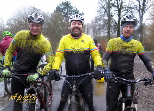 Conditions were muddy!!
