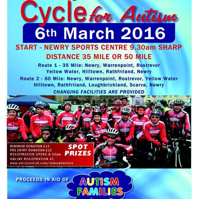 Newry Wheelers Cycle for Autism